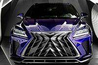 Szörnyeteget faragott egy orosz tuningcég a Lexus RX-bl és NX-ből
