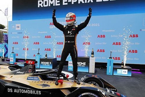 Rome E-Prix: Vergne capitalises on Di Grassi woe for victory