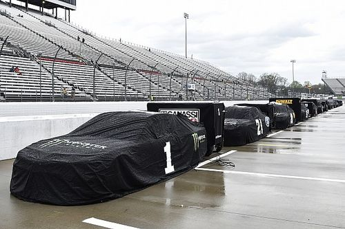 Persistent rain postpones Martinsville Cup race until Sunday