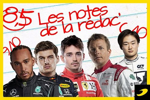 Les notes du Grand Prix d'Espagne 2021