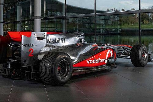 Subastan un McLaren ganador de Lewis Hamilton