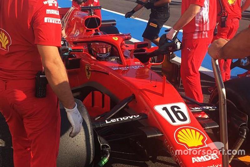 莱克勒克驾驶法拉利赛车完成轮胎研发工作