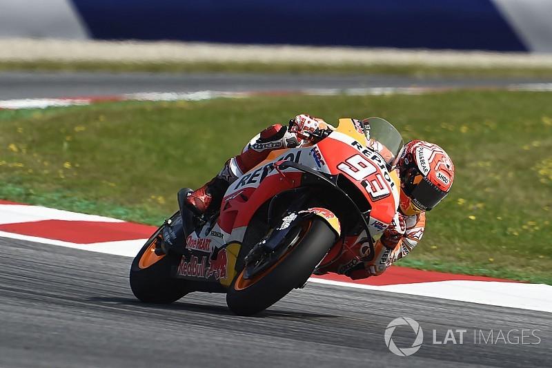 FP2 MotoGP Austria: Trek basah, Marquez paling kencang