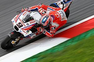 MotoGP Prove libere Misano, Libere 2: Ducati al top con Petrucci. Dovi 3° dietro a Vinales