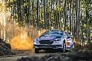 WRC Тянак повредил машину и уступил Ожье лидерство в Португалии