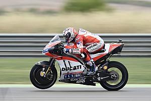 """MotoGP Noticias Dovizioso: """"Rodar en estas condiciones no tenía sentido"""""""