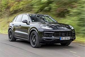 Automotive Testbericht Porsche Cayenne 2018 Erlkönig Test: Der Diesel-Motor ist nicht tot