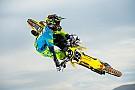 Supercross Justin Bogle costretto a fermarsi dopo l'incidente di Anaheim