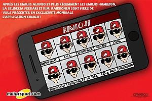 Formule 1 Contenu spécial L'humeur de Cirebox - Après Alonso et Hamilton, voici les emojis Räikkönen