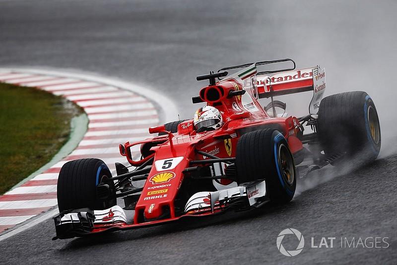 Ferrari: sul bagnato l'ala a cucchiaio è stata preferita da quella più carica