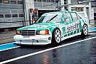 Тото Вольф проехал на гоночном Mercedes 1991 года