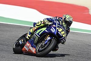 MotoGP Отчет о тренировке Травмированный Росси возглавил третью тренировку Гран При Италии
