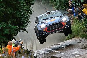 WRC Отчет о секции Невилль вернул себе первую позицию в Ралли Польша