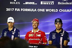 Formula 1 Press conference Italian GP: Thursday's press conference
