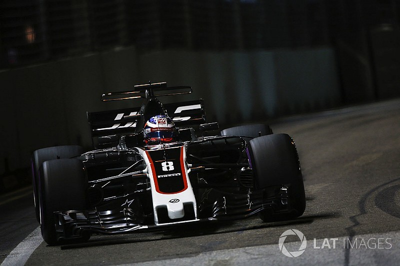Haas hopes Singapore struggles a one-off