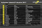 Jadwal resmi kalender MotoGP 2017