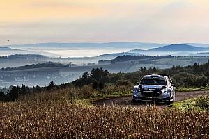 WRC Etappenbericht WRC-Rallye Deutschland: Ford-Pilot Ott Tänak siegt