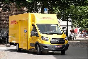 Automotive News Deutsche Post vor Einführung von elektrischem Großtransporter