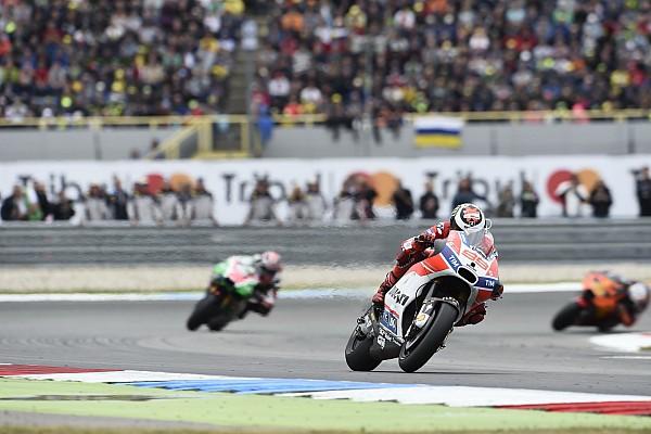 MotoGP Réactions Lorenzo a tenté un pari :