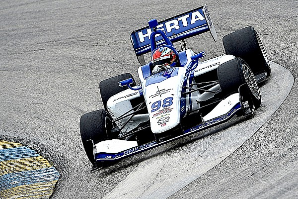Indy Lights Barber Indy Lights: Herta on pole after qualifying rainout