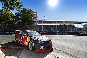 Supercars Qualifying report Clipsal 500 Supercars: Van Gisbergen beats Penskes to pole