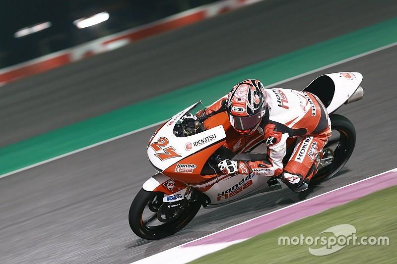 【Moto3カタール】鳥羽海渡「追い上げて、いい位置でゴールしたい」