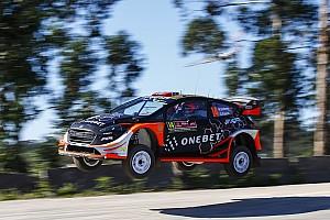 WRC Actualités Østberg pourrait alterner entre Michelin et DMACK