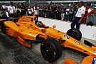 IndyCar Alonso nagy arc -