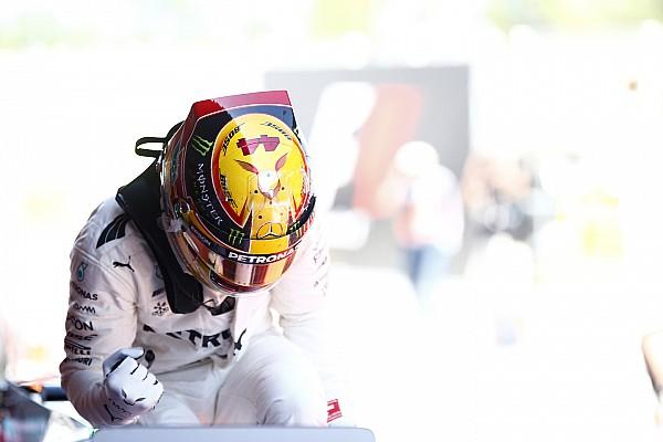 Formule 1 Actualités Hamilton atteint les niveaux de popularité de Schumacher