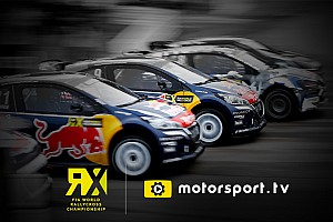 Speciale Motorsport.com Motorsport.tv trasmetterà in esclusiva il FIA World Rally Cross Championship in UK e Irlanda