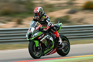 WSBK Reporte de prácticas  Jonathan Rea sigue dominando y manda en los libres de Motorland Aragón