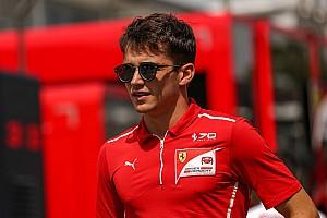 Formel 1 News Charles Leclerc vor Formel-1-Einstieg: Freitagseinsätze bei Sauber fix