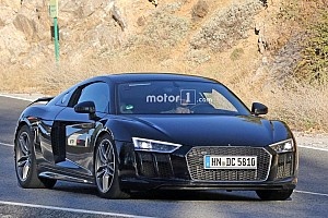 Auto Actualités Que cache cette mystérieuse Audi R8?
