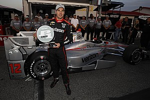 IndyCar Qualifying report Gateway IndyCar: Power takes 50th pole of his career