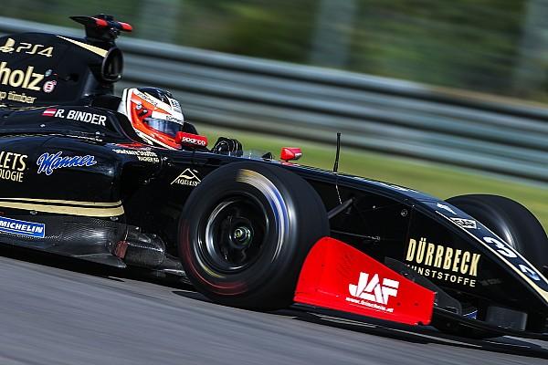 Rene Binder se lleva la pole en Austin en la Fórmula V8 3.5