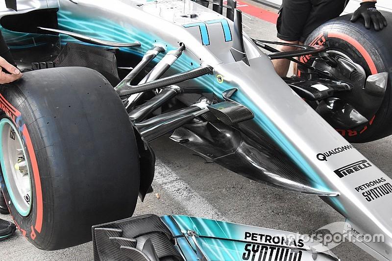 Galería: fotos espía de los equipos de F1 en el GP de Austria 2017