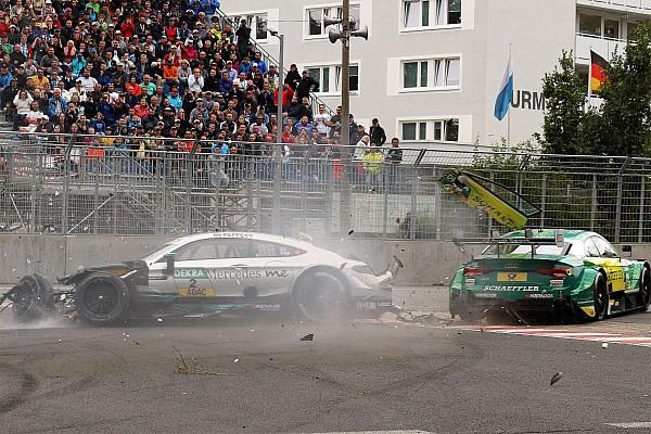DTM DTM-Unfall am Norisring 2017: Auf Gary Paffett wirkten 40 g