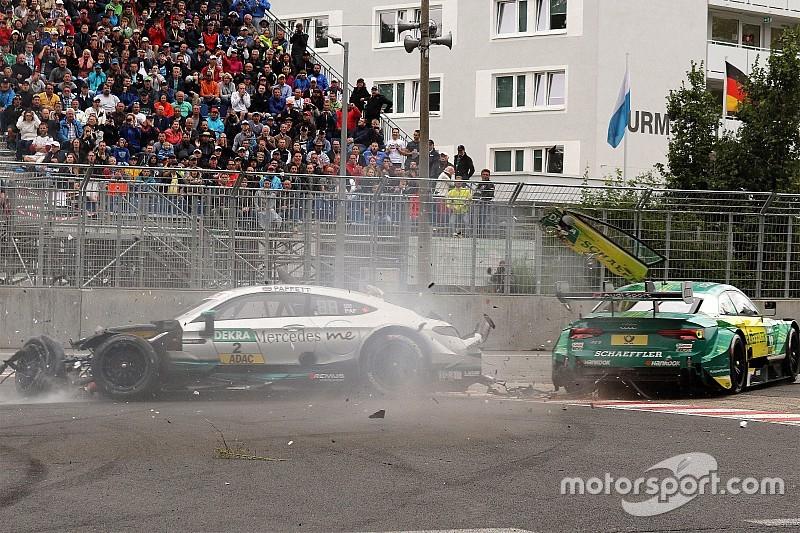 DTM-Unfall am Norisring 2017: Auf Gary Paffett wirkten 40 g