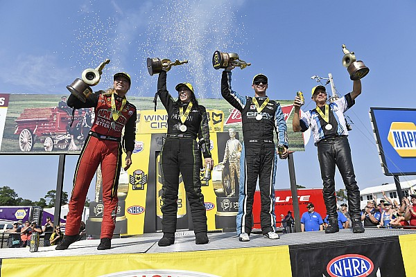 Antron brown nhra driver news photos videos and for Tanner motors brainerd minnesota