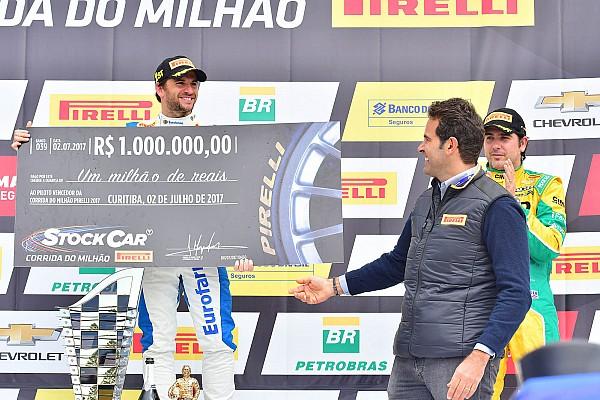 Stock Car Brasil Vitória na Corrida do Milhão dá liderança a Serra