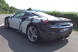 Гібридний Ferrari 488 «спіймали» на міських тестах