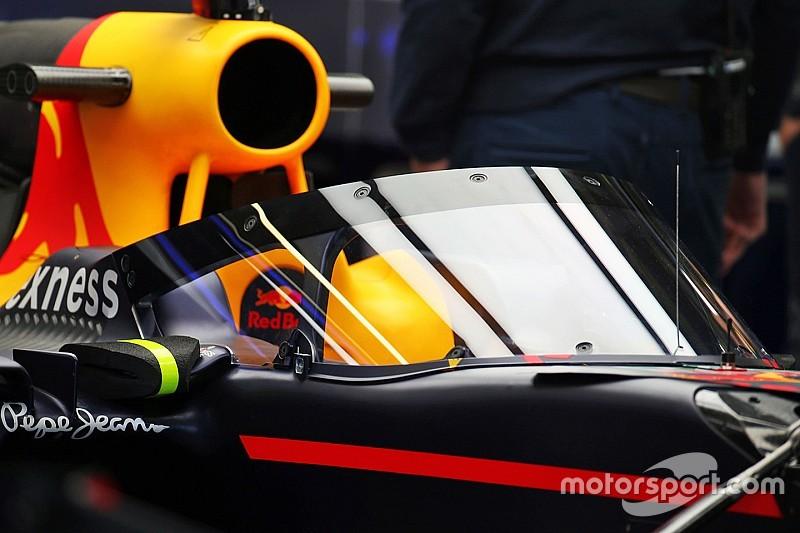 В Red Bull призупинили розвиток Aeroscreen