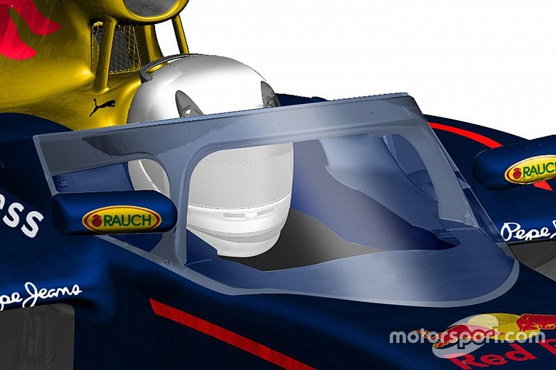 & Red Bull canopy could now be ready to race in 2017