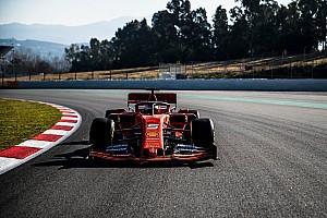 Ferrari SF90: completato il filming day a Barcellona da Vettel e Leclerc