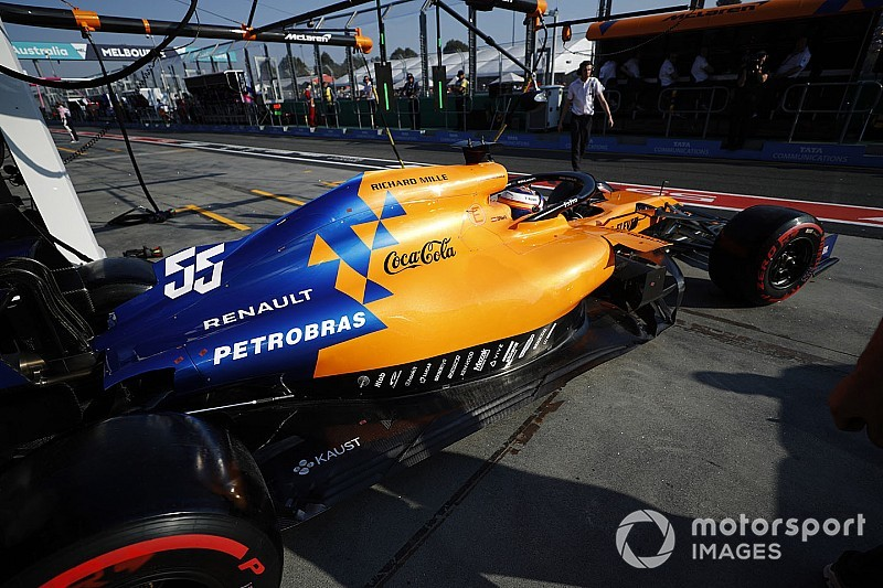 McLaren aún no lleva combustible de Petrobras