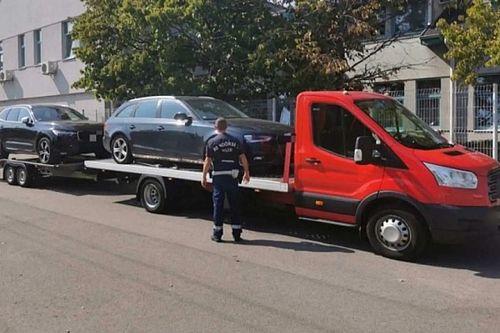 Újabb túlsúlyos vontatmányt kapcsoltak le a rendőrök