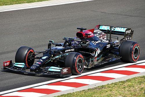 Hamilton le gana la FP3 a Verstappen en Hungría por 0s088