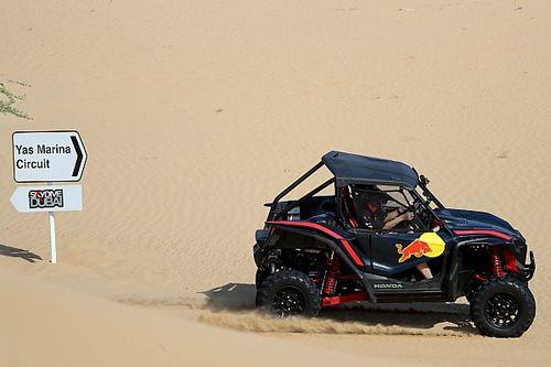 GALERÍA: Albon y Verstappen se adentran en las dunas
