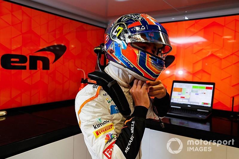 Норрис проведет с McLaren первую тренировку в Сочи