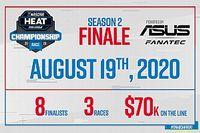 Asus y Fanatec proveedores de la final de eNASCAR Heat Pro League